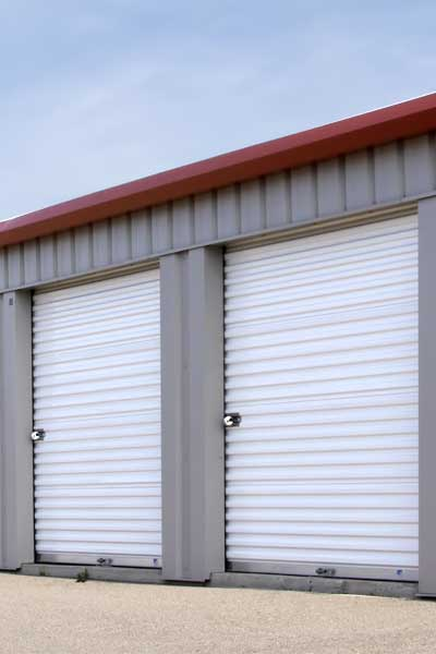 Exterior Access Storage Units